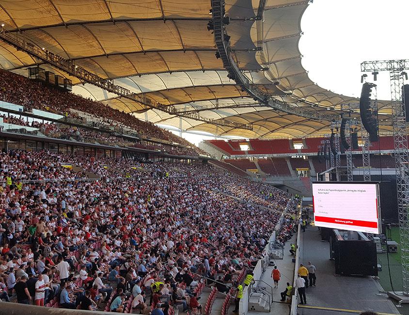 Mittgliederversammlung VfB Stuttgart 2017